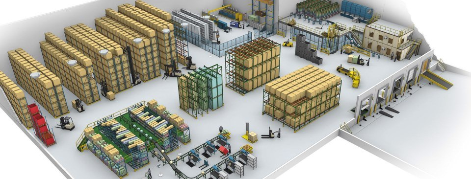 'Warehouse Design' & 'Warehouse Start-Up'
